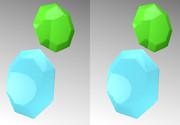 立体視画像144「八角形」