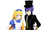 時報ちゃんアリスと帽子屋っぽい時報くん
