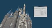 シンデレラ城3Dモデル 10