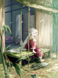 竹林にある不死鳥の隠れ家。