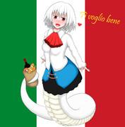 イタリア産ラミアさん