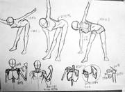 ひねり練習&上半身の骨格練習
