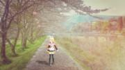 銀獅式鏡音リン『桜舞う道』