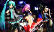 今夜はバイクで ミッドナイトドライブ☆