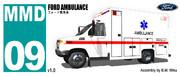 [MMD] フォード救急車 v1.0