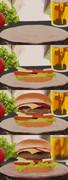 ハンバーガー(作業工程)