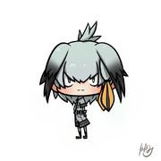 ハシビロコウちゃん