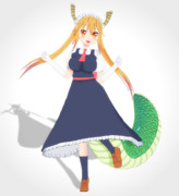 【MMDモデル配布】トール