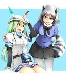 ミライとアライグマ