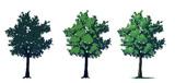 【メイキング】木【描き方】