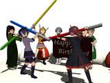 誕生日ケーキ?