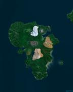 キョウシュウチホー衛星写真