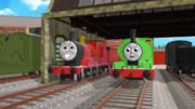 騙される機関車と騙す機関車