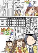 本日(2017/04/01)の阪神vs広島戦を観ていた艦娘たちの様子です。ご確認ください
