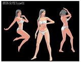 STONE式_素体女性Type01 コミュにてモデル配布
