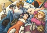 八雲一家と猫いっぱい