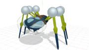 【MMD】オニシズクモモデル配布します