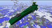 【minecraft】modでマゼラン級戦艦を作ってみた【jointblock】