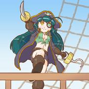 海賊ずん子ちゃん