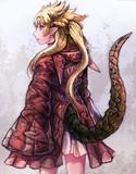 龍鱗のフード