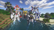 Minecraft」スーパーロボット大戦M「jointblock」