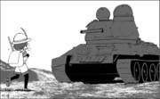 戦場に行ったフレンズ達シリーズ : 君は対戦車犬なフレンズなんだね