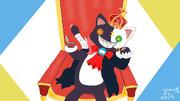猫っぽい王様的な