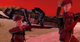 骸骨歩兵とドラゴン