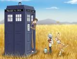 TARDIS in the JapariPark