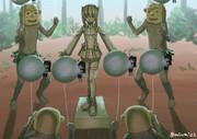 タウイの大鳳信者が謎の儀式を始める