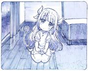 髪下ろしカンナちゃん