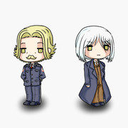 オウル課長とアーベントさん