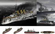 MMD用モブ前弩級戦艦1903(モヴェーダ)セット