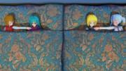 プリズムリバー姉妹の就寝
