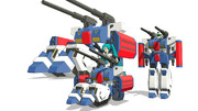 MMD用 ガンタンクR44 配布