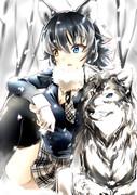 タイリクオオカミのフレンズ