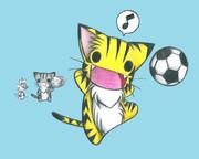 サッカーにゃんこ