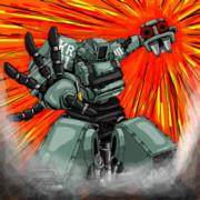 開戦!クラタスVSメガボット