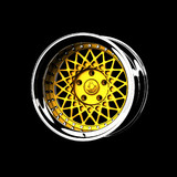 ENKEI x RocketBunny 6666 wheels
