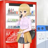 缶コーヒーと女子高生