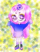 眼鏡っ娘♡ゆめかわいい♡