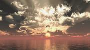 【MMDステージ配布】銅色の夕空 TS3【スカイドーム】