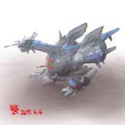 二脚歩行型戦闘装甲車「ボールライガー」