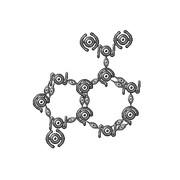 アンノーンで化学構造式