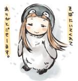 肯定ペンギンの仁奈ちゃん(2)