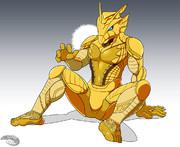 金ぴかハヤブサの神様