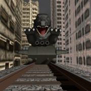 VS恐竜戦車