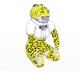 ジャガー人間像 スケッチ