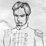 ある歴史上の人物を描いてみた