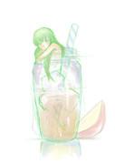 C.C&リンゴジュース
